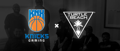 Turtle Beach and Knicks Gaming join forces for the inaugural NBA 2K League season.