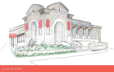 A rendering of the James Avery flagship that is set to open in the summer of 2018.