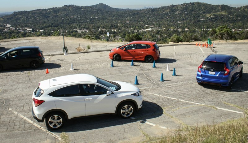 "Yesterday Honda hosted more than 53 media and social influencers at its ""Shifting Gears"" celebration of the manual transmission in the San Gabriel mountains."