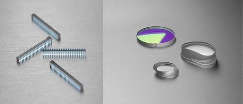 FISBA's Slow Axis Collimator (SAC) Array and Precision Molded Free Form Optics.