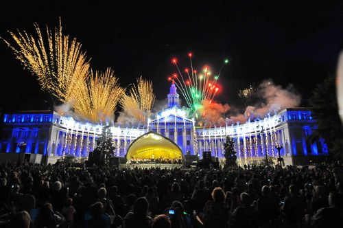 Denver celebrates Independence Eve (July 3) with fireworks and entertainment at Civic Center Park. Credit: VISIT DENVER, The Convention & Visitors Bureau