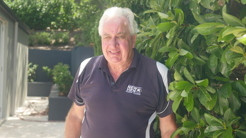Max Macarthur, owner, New View Window Cleaning