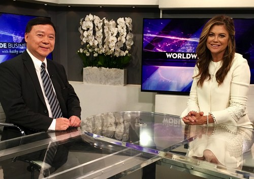 """Super Model-turned-Super Mogul Kathy Ireland interviewed Anpac Bio CEO Dr. Chris Yu for an upcoming, """"Breakthroughs in Medical Innovation"""" segment of her award-winning show, """"Worldwide Business with Kathy Ireland"""". Dr. Yu was invited to speak about Anpac Bio's """"Cancer Differentiation Analysis"""" (CDA) liquid biopsy technology, due to the company's 80,000 cases to date  demonstrating CDA identifies 26+ different cancers with a single, standard blood test-usually catching it at the earliest stages."""