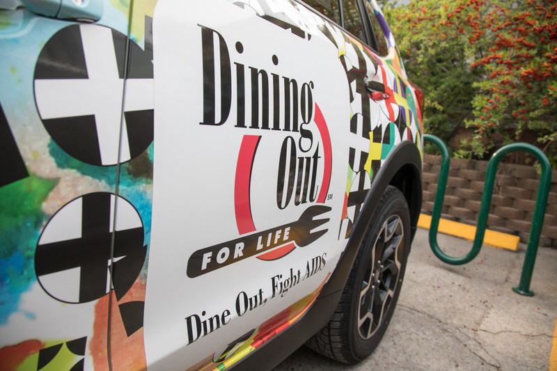 DIG IN, DINE OUT FOR HIV CARE APRIL 26: Dining Out For Life® hosted by Subaru®