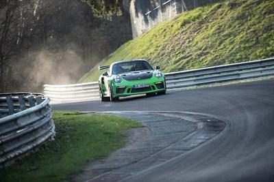 Porsche 911 GT3 RS Nuerburgring Nordschleife (PRNewsfoto/Porsche Cars North America, Inc.)