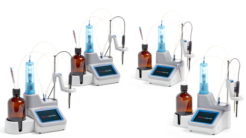 Thermo Scientific Orion Star T900 Series of potentiometric laboratory-grade titrators consists of four automated titrators, three designed to enable dedicated pH, redox or ion potentiometric measurements, and one all-in-one unit that consolidates the analyses of all three parameters for additional flexibility within a single device.