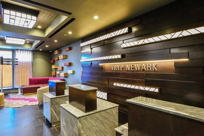 The newly opened, 101-room TRYP by Wyndham Newark Downtown sits in the heart of Newark, N.J., and is designed to celebrate the city's vibrant and unique culture.