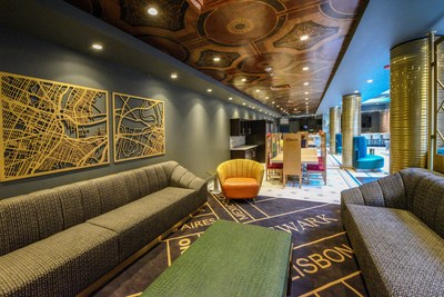 Designed by Hotel Impossible star Blanche Garcia, the hotel's interior is inspired by the art deco style of the 1920s and combines a mix of historic elegance, local art and playful nods to the city's culture.