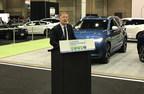 Le maire de Laval, Marc Demers, a annoncé en ouverture du Salon du véhicule électrique de Montréal la création de subventions liées à l'électrification des transports pour les citoyens lavallois. (Groupe CNW/Ville de Laval)
