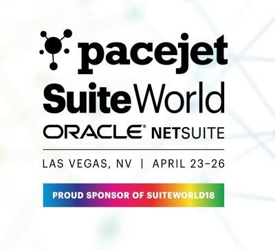 Pacejet is a proud Gold Sponsor of SuiteWorld 2018