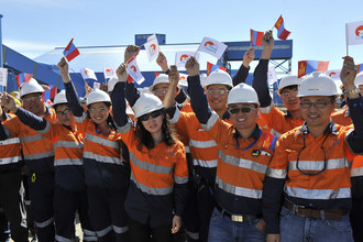 The project team, on the ground since February 2016, has been supporting the creation of Oyu Tolgoi, the world's largest underground mine, capable of producing copper for the global market for the next 100 years.