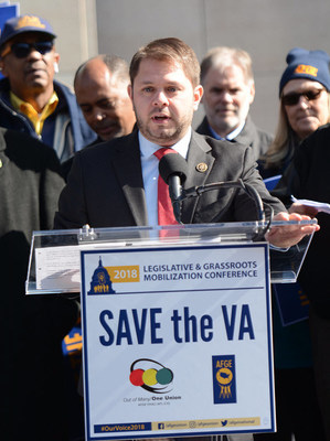 The largest federal employee union, the American Federation of Government Employees, is endorsing Rep. Ruben Gallego for re-election this November to the U.S. House representing the 7th district of Arizona.