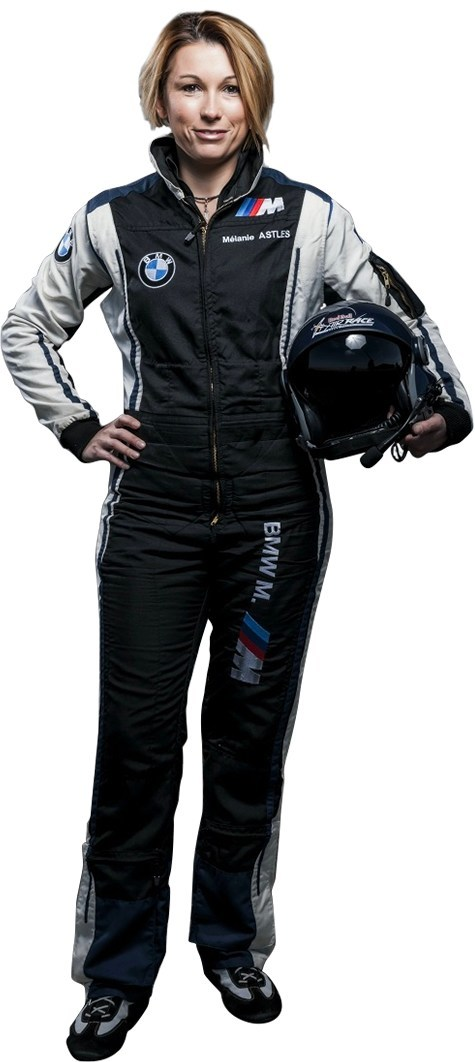 Michelin sponsors Melanie Astles, first female pilot competing in Red Bull Air Race World Championship race in Cannes April 20-22
