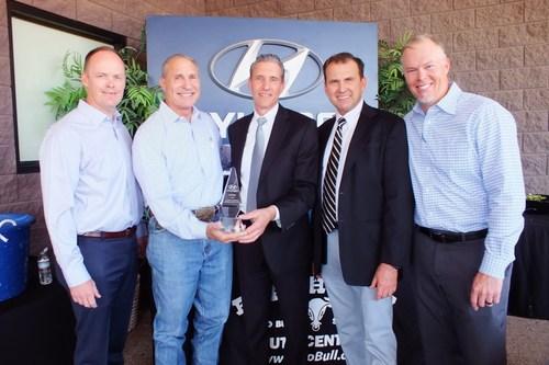 Dave McHone, F & I Manager (2017 Svc/Pts Director); Tom Scheurn, General Manager; Wayne Szabo; Mark Race, DPSM; Robert Bullard, Service & Parts Director