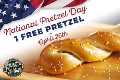 Philly Pretzel Factory - National Pretzel Day
