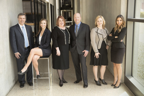 The employment law team at Clouse Brown PLLC (l to r): Bruce Rothstein, Jesse Clouse, Alyson Brown, Keith Clouse, Emily Stout and Camille Avant.