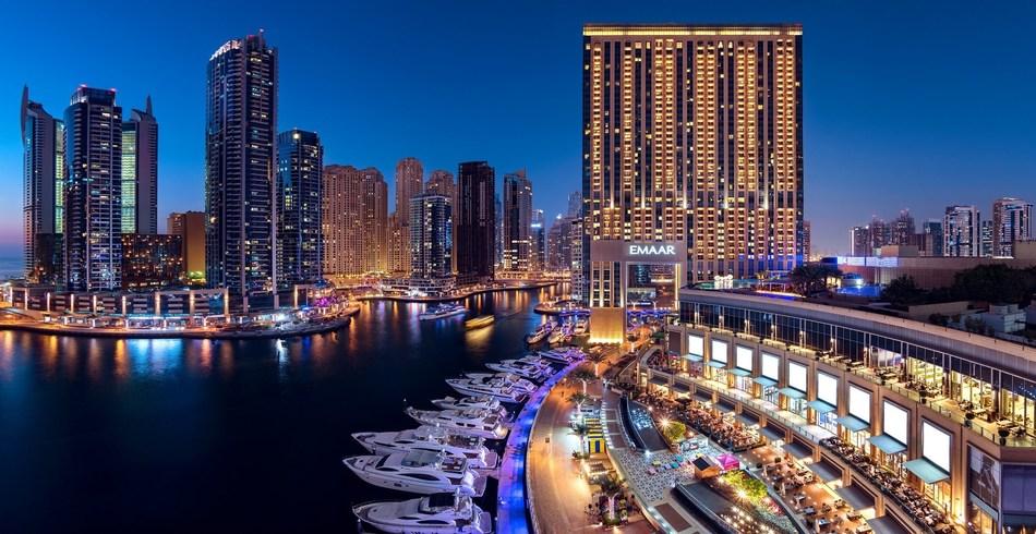 Dubai Marina – a project by Emaar Properties (PRNewsfoto/Emaar Hospitality Group)