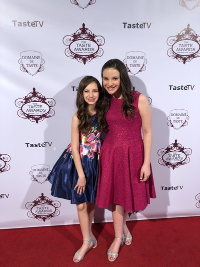 Hadley and Delaney Robertson at the Taste Awards on April 9, 2018 in West Hollywood, CA.