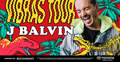 Global Superstar J Balvin Announces North American 'Vibras Tour,' Powered By Buchanan's Whisky