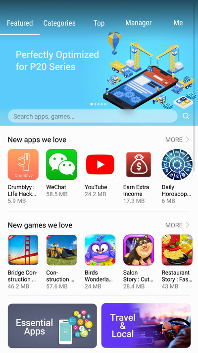Featured Section