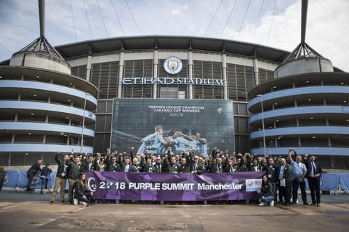 Nexen Tire concluye la CUMBRE PÚRPURA 2018 de Manchester (PRNewsfoto/Nexen Tire)