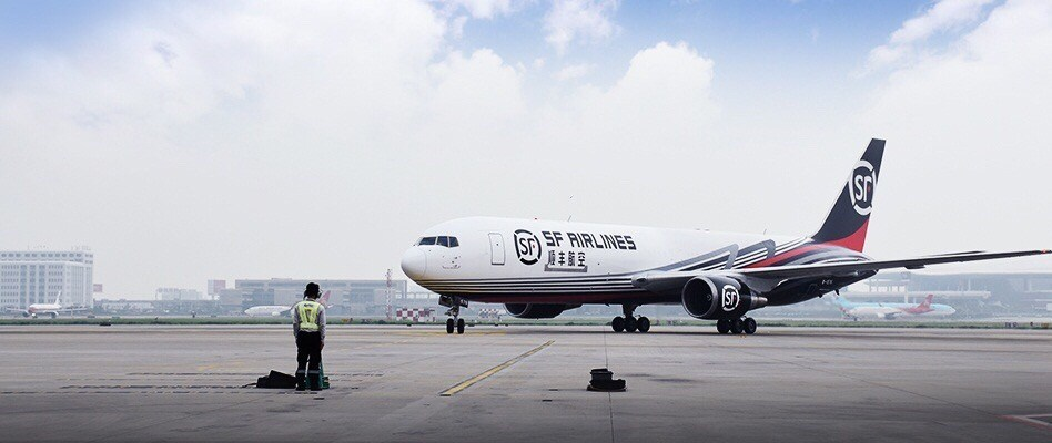 SF Airlines, a wholly-owned subsidiary of SF holdings.
