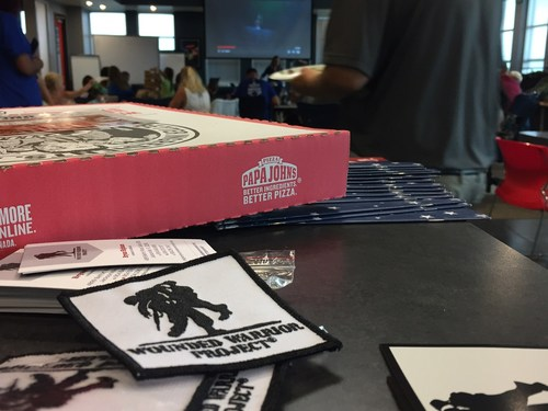 Pizza lovers rejoice – 131 Papa John's® stores across multiple western states are offering a special combo to raise support for the warriors served by Wounded Warrior Project® (WWP).