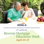 NRMLA Hosts Free Webinar Series for Reverse Mortgage Education Week