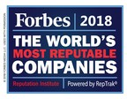 Bacardi Named One of the World's Most Reputable Companies for Sixth Year in a Row