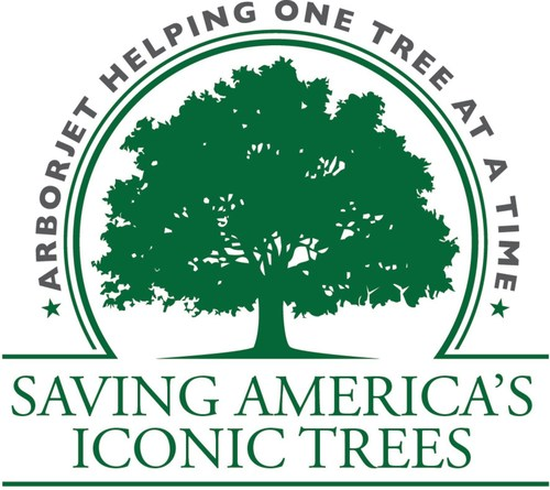 """Arborjet is """"Saving America's Iconic Trees"""". Throughout 2018, Arborjet will donate high-profile treatments and host educational events across the U.S. Private homeowners and state, city, town and municipal leaders can nominate iconic trees in their communities for potential recognition and treatment at www.arborjet.com/saving-americas-iconic-trees."""