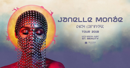 Janelle Monáe Announces Long Awaited Return To The Road With 'Dirty Computer Tour' Featuring Special Guest St. Beauty