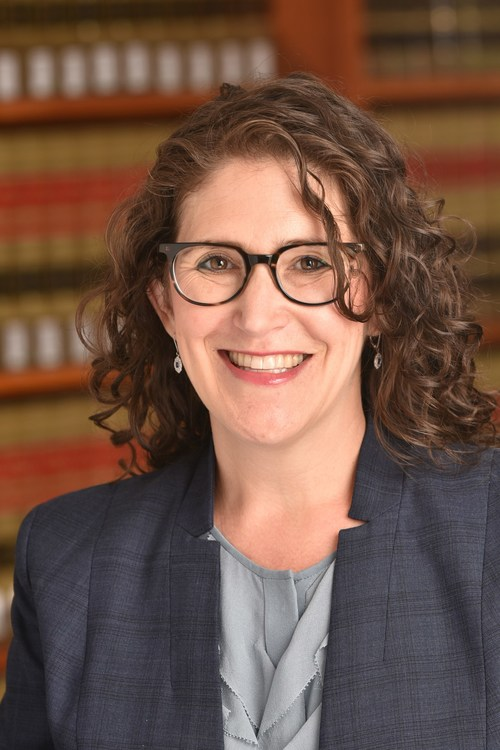 """""""I am excited by the prospect of leveraging my energy and expertise to advance the dialogue around free speech and civic engagement,"""" says Michelle Deutchman, who will be the first executive director of the UC's National Center for Free Speech and Civic Engagement. Credit: UCLA School of Law"""