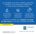 RBC Assurances : Les Canadiens sont moins nombreux aujourd'hui à bénéficier d'une assurance invalidité dans le cadre de leurs avantages sociaux. (Groupe CNW/RBC Assurances)