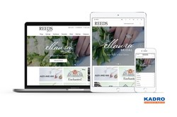 REEDS Jewelers website developed by Kadro on Magento Commerce