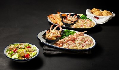 The Create Your Own Shrimp Trios event at Red Lobster® lets guests choose three of nine craveable shrimp selections from a flavorful lineup of new and classic preparations for just $15.99.