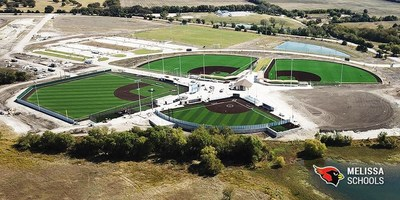 The New Melissa Sports Complex, 4220 E. Melissa Road Melissa, TX 75454, opened in February of 2018.  Travel Sports solidified a relationship with park Officials to have the 2018, and future, Strikes Against Cancer games in the City of Melissa, TX.   This complex is 5 minutes from Adam and Geordon Cox's 20 acre ranch.