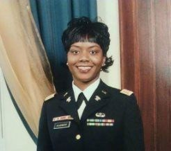 Shateka Husser is a combat veteran and ex-army captain.