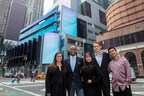 Morgan Stanley welcomes CariClub to Multicultural Innovation Lab. Pictured left to right: Courtney Bryan; Rhoden Monrose, CEO & Founder; Sara Fry; O'Neill Dewey; and Rishi Chheda.