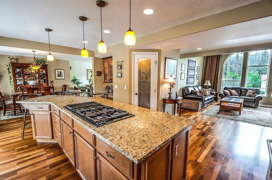 This home offers the kind of open floor plan and granite countertops that are top priorities for many homebuyers these days.