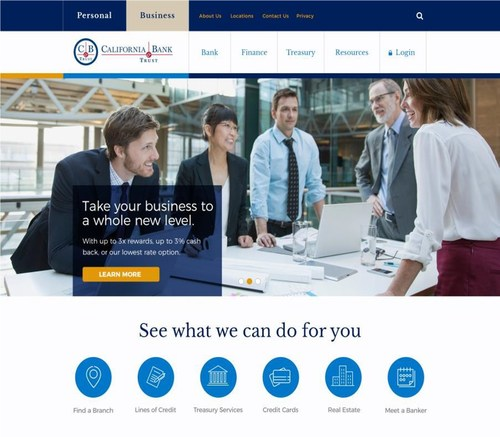 New California Bank & Trust website