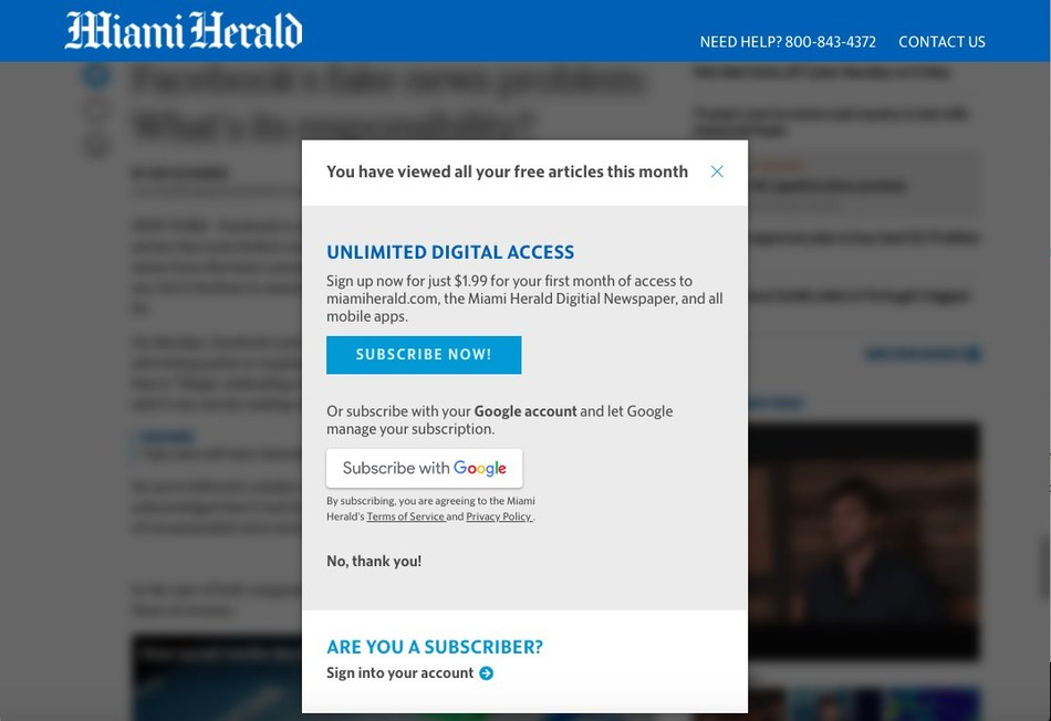 McClatchy rolls out Subscribe with Google