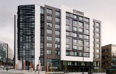 Noble & IHG are excited to announce the opening of the EVEN Hotel and Staybridge Suites hotel in downtown Seattle. The hotels are adjacent to the Amazon headquarter campus and the new Google campus in the vibrant South Lake Union market of Seattle.