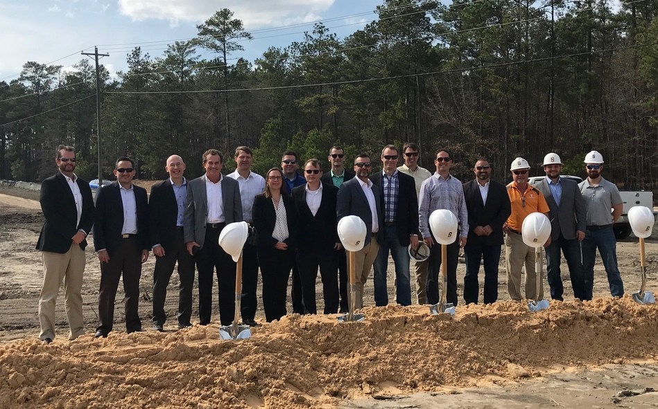 The partnership team of Watercrest Senior Living Group and Titan Development Real Estate Fund I gather with city officials, construction, design and development partners to celebrate the ceremonial groundbreaking of Watercrest Columbia Assisted Living and Memory Care in Columbia, SC.