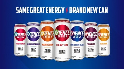 XYIENCE Energy Drink Unveils New Can Redesign and 4-Pack Package for Increased Shelf Visibility; XYIENCE, the leading zero calorie/zero sugar energy drink made with all natural flavors and colors, unveiled today a fresh can design and introduced a convenient 4-pack package. The new enhancements more clearly communicate the brand's key value propositions and further meet the needs of consumers.