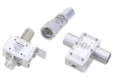 L-com Coaxial RF Lightning and Surge Protectors