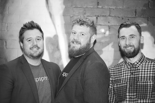 Left to right, Tom Williams CRO & Founder, Dave Carruthers CEO & Founder, Andrew Barraclough CTO & Founder