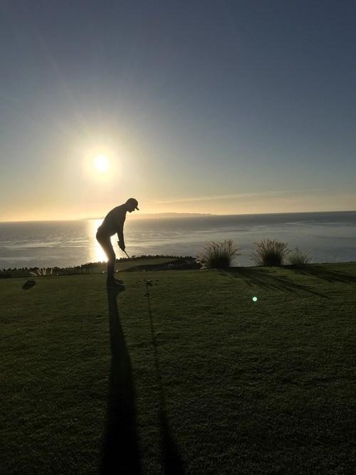 Golf Advisor Round Trip host Matt Ginella at TPC Danzante Bay Golf Club