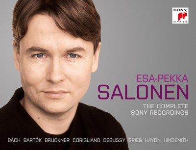 Esa-Pekka Salonen: The Complete Sony Recordings Available May 4 from Sony Classical
