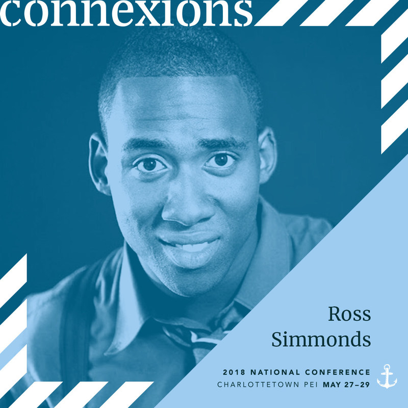 Ross Simmonds, digital marketing and artificial intelligence expert. (CNW Group/Canadian Public Relations Society)