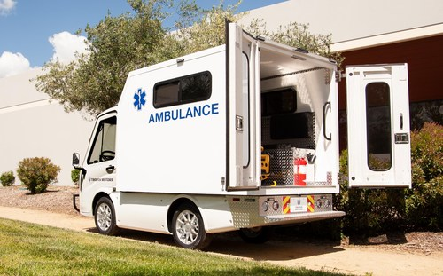 Alongside its announcement of new dealers for the ABLE, Tropos Motors has released the EMSc, an emergency response vehicle with an enclosed area for patients and first responders, equipped with a variety of medical equipment.